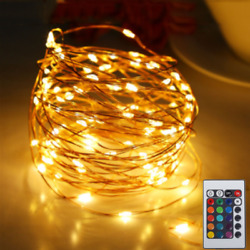 Dimmable Copper Wire LED String Fairy Light Christmas Decorative Light Outdoor
