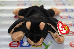 BEANIE BABY ORIGINAL DOBY OCT. 9TH...1996 SUPER REAR NEW MINT..... GUARANTEED...