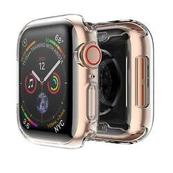 [2 Pack] For Apple Watch Series 4 40mm 44mm Case Soft TPU iWatch Cover Bumper