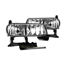 Fog Lights Bumper Lamps Light - Clear For 00-06 Chevy Suburban Tahoe FL7076 $25.99