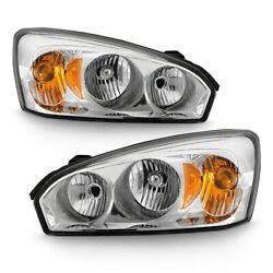 04-07 Chevy Malibu Factory Style LEFT+RIGHT Headlight Replacement Lamp Assembly $87.74