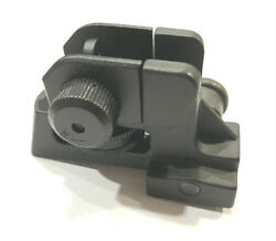 US SELLER!!! Rear Iron Sight Match-grade Aluminum Picatinny  Weaver $22.99