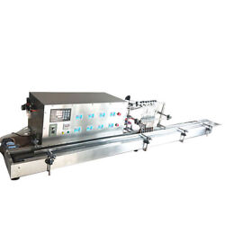8 Heads Full Automatic Liquid Filling Machine 10-500ml STAINLESS