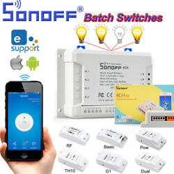 Sonoff Smart Home WiFi Wireless Switch Module For IOS Android APP Ctrl hot sale $25.59