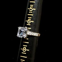 Sterling Silver Ring with CZ size 7 Lauren G Adams
