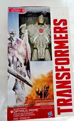Hasbro Transformer Silver Knight Optimus Prime Action Figure brand new $21.21