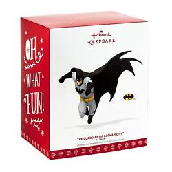 Hallmark 2017 Keepsake Ornament The Guardian Of Gotham City Batman New!