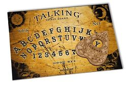Wooden Ouija Board game amp; Planchette with instruction. Spirit hunt Bizarre Ghost GBP 10.79