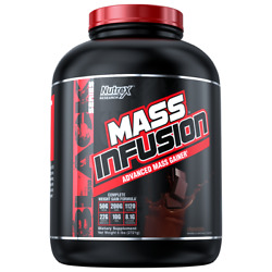 Nutrex Research Mass Infusion Weight Gainer and Muscle Building Formula  6lbs