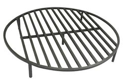 Round Fire Pit Grate 70cm Heavy Duty Grill Cooking Campfire Camp Ring 1.3cm