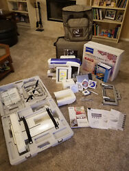 Brother Quattro 6000D Computerized Sewing Machine with upgrades++EXTRAS+++SIGNED