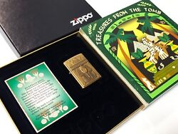 ZIPPO 1998 Collector's Edition TREASURES OF THE TOMB: King Tut Pharaoh Lighter