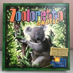 Zooloretto Board Game + 9 Expansions - inc Exotic Gorilla Polar Bear Petting Zoo