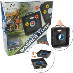 EastPoint All Weather Outdoor Washer Toss Game Set