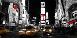 Wall-Art-PRINT-Ludo--H.-Nightlife-in-Times-Square-Poster-or-Canvas-Fine-Art