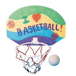 S&S Worldwide 2 Points! Basketball Hoops Craft Kit (Pack Of 12)