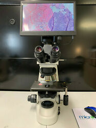 Nikon 50i Microscope with Plan Fluor Phase Objectives