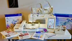 Brother Quattro 3 Innov-is 6000D  6750D Embroidery Sewing and Quilting