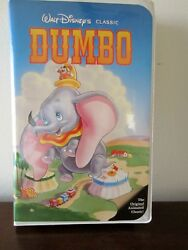 DISNEY'S DUMBO BLACK DIAMOND CLASSIC VHS ISBN# 1-55890-024-1