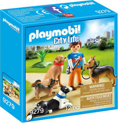 Playmobil City Life Dog Trainer 9279 (for Kids 4 and up)