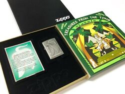 ZIPPO 1998 Collector's Edition TREASURES OF THE TOMB: Cobra Goddess Lighter Set