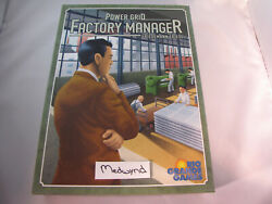 Power Grid Factory Manager Board Game Friedman Friese Rio Grande Games $24.99