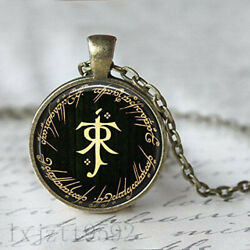 The Hobbit Lord of the Rings Tolkien Necklace Pendant Bronze Necklace jewelry $2.52