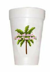 Palm Trees amp; 80 Degrees Cups Beach Cups $12.45
