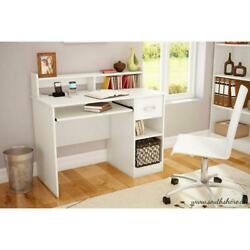 PC Computer Desk Table Workstation w Drawer Shelf Furniture Home Office $169.99