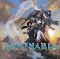 English Magic the Gathering Dominaria DOM Complete Set with Mythics Token MTG