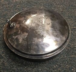 Antique SilverPlate Silent Butler No Handle