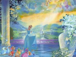 John Rowe The Life She Dreams Of - From Disney Cinderella Disney Fine Art