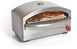 Camp Chef Stainless Steel Pizza Oven Outdoor Patio Cooking Baking Artisan Style