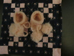 DARLING WOOL BOOTIES MADE FOR 11quot; TINY TEARS BETSY WETSY EFFANBEE OR SIMILIAR $15.99