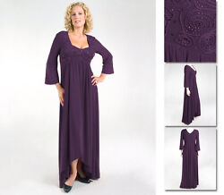 NEW Zaftique ADRIANNA DRESS Purple 2Z 4Z 5Z Womens 20 28 32 2X 4X 5X