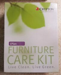 Crypton 1 Plan Leather & Wood Furniture Care Kit EPA Approved Kid Pet Eco Safe