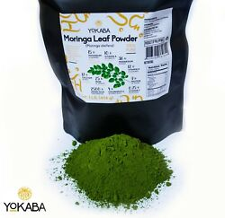 Moringa Oleifera Leaf Powder 1 lb 16oz Organic Natural 100% Pure YOKABA $14.99