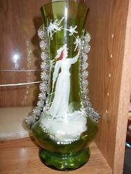Mary Gregory Antique glass vase $85.00