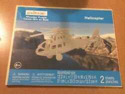 Creatology Wooden Puzzle Puzzle Helicopter $10.00