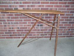 Antique Vintage Wooden Ironing Board $142.99