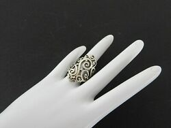 James Avery 925 Sterling Silver Ring Long Sorrento Womans Jewelry Scroll Fancy 7