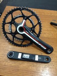 Fsa Kforce Light 10 Speed Crank With Stages 175 50 34 READ DESCRIPTION 5139 $199.00