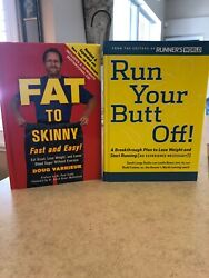 Run Your Butt Off  Sarah Lorge Butler Runner's World& Fat To Skinny W CD