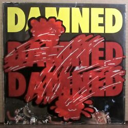 THE DAMNED rare Eddie & The Hot Rods back cover 1977 UK vinyl lp SEALED stickers