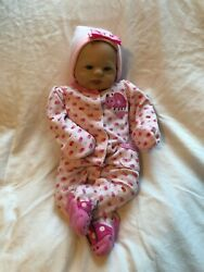 Reborn doll girl babydoll she's coming home with clothes 6 outfits Lifelike