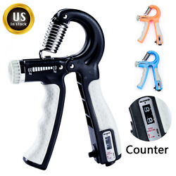 Hand Grip Gripper Forearm Strengthener Finger Power Exercise Strength Resistance