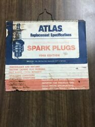 Atlas Replacement Specifications Spark Plugs 1969 Edition $5.95