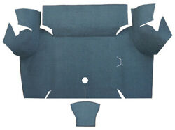 Trunk Mat for 1967 1968 Ford Mustang Coupe Trunk Kit Floor Only Nylon $218.99