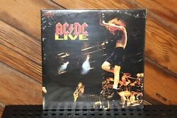 ACDC Live 1992 Remastered New Mint Sealed 180gm Epic Sony Vinyl 2 LP Gatefold