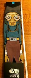 STANCE Star Wars Socks Kanata Chewbacca size Large $23.95